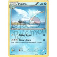 Swanna 37/122 - Turbo Colisão - Card Pokémon