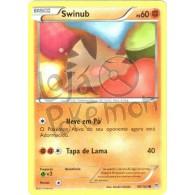 Swinub 80/162 - Turbo Revolução - Card Pokémon