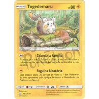 Togedemaru - Reverse Holo 73/236 - Eclipse Cósmico - Card Pokémon