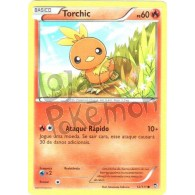 Torchic 12/111 - Punhos Furiosos - Card Pokémon
