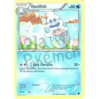 Vanillish 28/116 - Congelamento de Plasma - Card Pokémon
