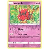 Venipede 56/147 - Sombras Ardentes - Card Pokémon