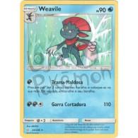 Weavile - Reverse Holo 44/236 - Eclipse Cósmico - Card Pokémon