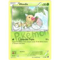 Weedle 1/116 - Congelamento de Plasma - Card Pokémon