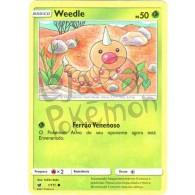 Weedle 1/111 - Invasão Carmim - Card Pokémon