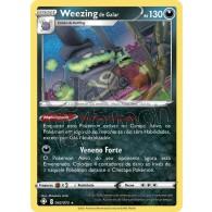 Weezing de Galar - Holo 42/72 - Destinos Brilhantes - Card Pokémon