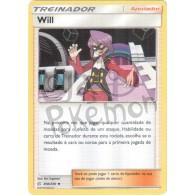 Will 208/236 - Eclipse Cósmico - Card Pokémon