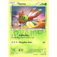 Yanma 6/114 - Cerco de Vapor - Card Pokémon