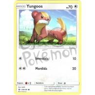 Yungoos - Reverse Holo 109/149 - Sol e Lua - Card Pokémon