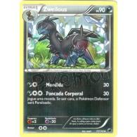 Zweilous 77/116 - Congelamento de Plasma - Card Pokémon