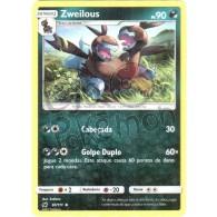 Zweilous 61/111 - Invasão Carmim - Card Pokémon