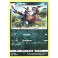 Zweilous - Reverse Holo 61/111 - Invasão Carmim - Card Pokémon