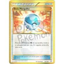 Bola Mergulho - Rara Secreta - 161/160 - Conflito Primitivo - Card Pokémon