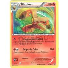 Blaziken - Holo 28/160 - Conflito Primitivo