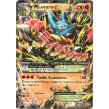 Mega Lucario EX - Holo 55/111 - Punhos Furiosos
