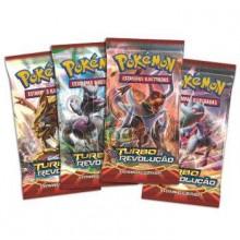 Booster Pokémon - Coleção Turbo Revolução