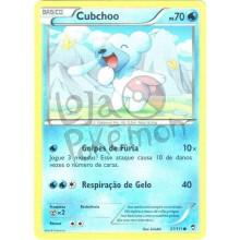 Cubchoo 21/111 - Punhos Furiosos