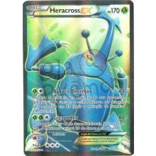 Heracross EX - Full Art 105/111 - Punhos Furiosos - Card Pokémon