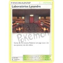 Laboratórios Lysandre 111/131 - Luz Proibida
