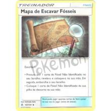 Mapa de Escavar Fósseis 107/131 - Luz Proibida