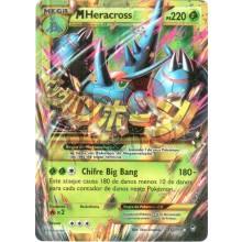 Mega Heracross EX - Rara Secreta 112/111 - Punhos Furiosos