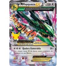 Mega Rayquaza EX 76/108  76/ - Coleção Clássica