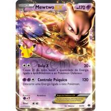 Mewtwo EX 54/99 54/ - Coleção Clássica