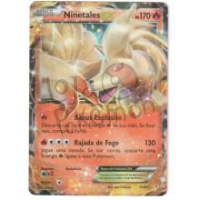 Ninetales EX - Holo 13/83 - Gerações - Card Pokémon