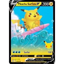 Pikachu Surfista V 8/25 - Celebrações