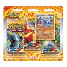 Triple Pack Pokémon - Coleção Flash de Fogo - Machamp
