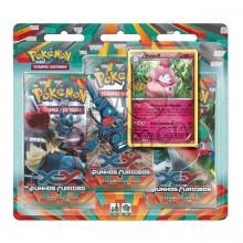 Triple Pack Pokémon - Coleção Punhos Furiosos - Slurpuff