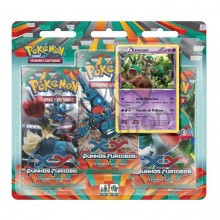 Triple Pack Pokémon - Coleção Punhos Furiosos - Trevenant