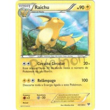 Raichu - Holo 43/146 - X Y