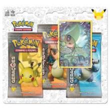 Blister Triplo Pokémon - Coleção Gerações - Celebi