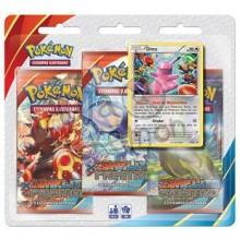 Triple Pack Pokémon - Coleção Conflito Primitivo - Ditto