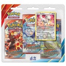 Triple Pack Pokémon - Coleção Conflito Primitivo - Furfrou