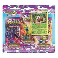 Triple Pack Pokémon - Coleção Força Fantasma - Shiftry
