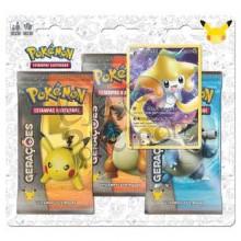 Blister Triplo Pokémon - Coleção Gerações - Jirachi