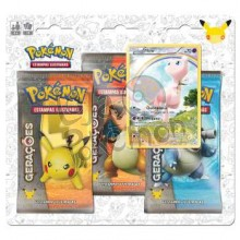 Blister Triplo Pokémon - Coleção Gerações - Mew