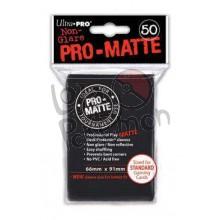 Deck Protector Pro-Matte Ultra-Pro Preto 66x91mm  - 50 Unidades