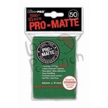 Deck Protector Pro-Matte Ultra-Pro Verde 66x91mm  - 50 Unidades